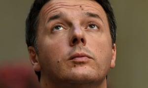 Italy's prime minister, Matteo Renzi