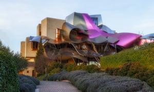 Frank Gehry's Marqués de Riscal winery