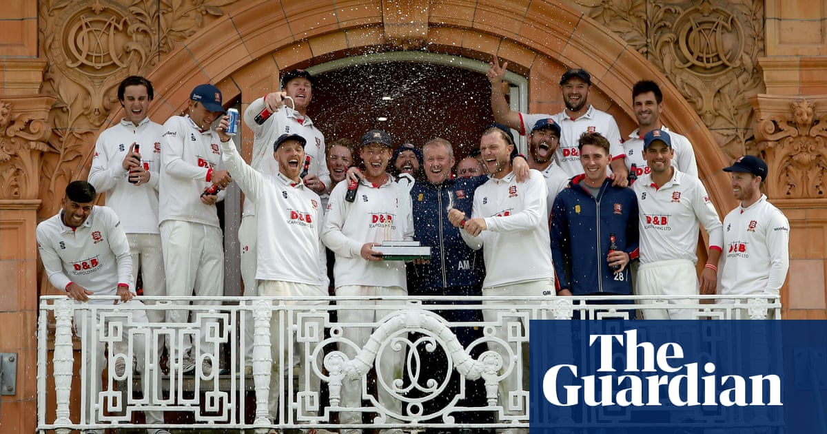 Essex captain Tom Westley apologises for teams Lords celebrations