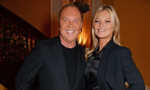 Magic moments: Michael Kors with Kate Moss.