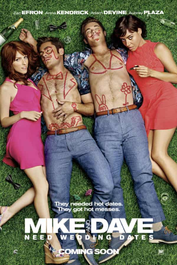 Mike and Dave Need Wedding Dates - 2016No Merchandising. Editorial Use Only. No Book Cover Usage Mandatory Credit: Photo by Moviestore/REX/Shutterstock (5760299a) Anna Kendrick, Zac Efron, Adam Devine, Aubrey Plaza Mike and Dave Need Wedding Dates - 2016