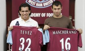Carlos Tevez and Javier Mascherano