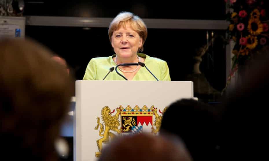 Angela Merkel: seeking guidance from the Bard?