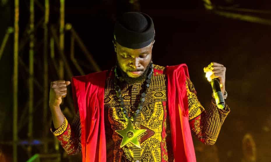 Fuse ODG performing in Ghana in January.