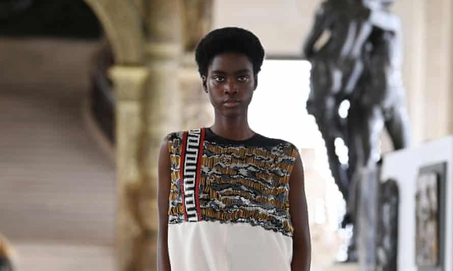 Louis Vuitton's womenswear autumn/winter 21/22 collection.