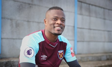 Patrice Evra has great pedigree but Premier League return will be testing | Sachin Nakrani