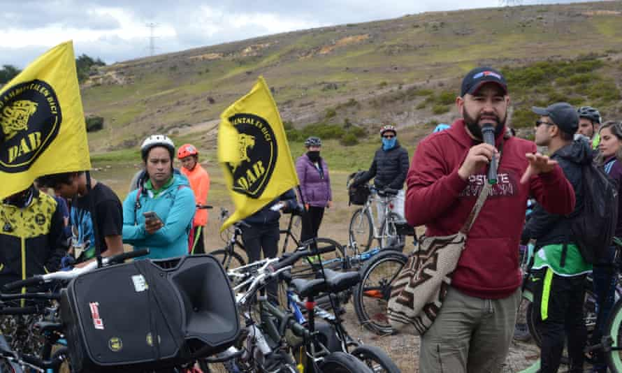 During the 10-week course, participants cycle to key nature zones to learn about the environment. The course leaders also connect them to community groups fighting to protect these areas.