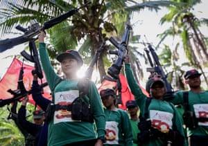 The rebellion has left about 40,000 combatants and civilians dead