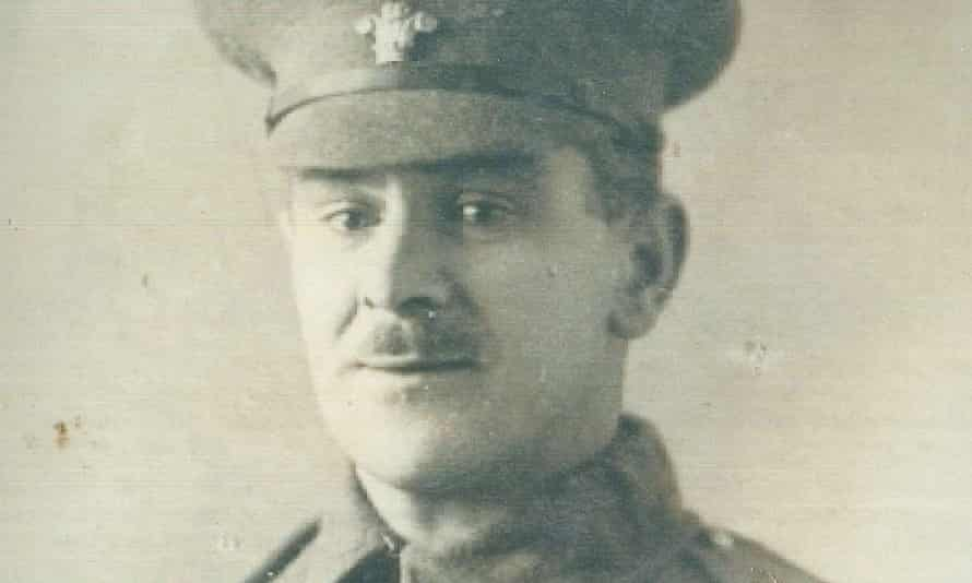 Frederick James Davies, a British army private in the first world war.