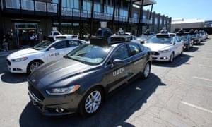 uber self driving cars