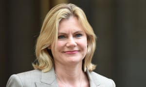 The former education secretary and remain supporter Justine Greening