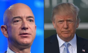 'Despite the escalating bitterness of Trump's tweets about him, Bezos has avoided being positioned as Trump's nemesis.'