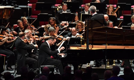 Igor Levit on the opening night of 2017's proms, part of the 2020 opening night's offerings