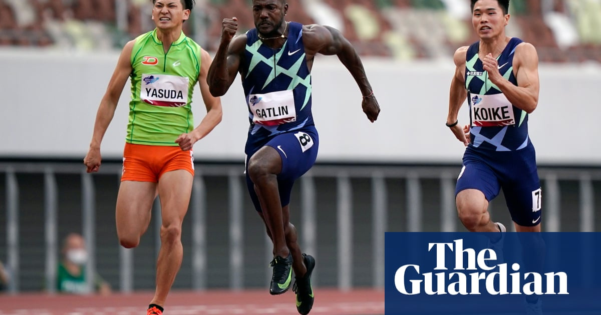 Tokyo's Olympic Stadium holds test event with 420 athletes including Gatlin