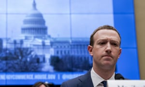 Mark Zuckerberg testifies before a House hearing on Capitol Hill in Washington about the use of Facebook data to target American voters in the 2016 election and data privacy.