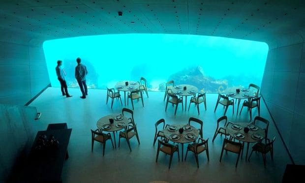 theguardian.com - Wave reviews: Under - Norway's new underwater restaurant