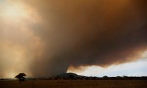 Orroral fire in Namadji national park