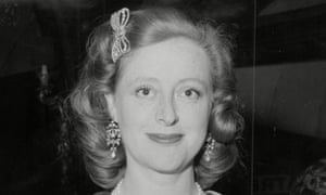 Evelyn Anthony in 1961. On top of her success as a writer, she also became the first female High Sheriff of Essex in 700 years, of which she was justly proud.