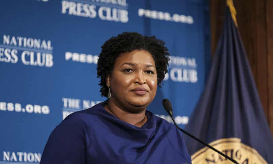 Stacey Abrams: 'I may not have become governor, but that does not absolve me of the responsibility to ensure that the voices of Americans get heard.'