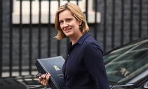 Amber Rudd … setting her mind towards the future.