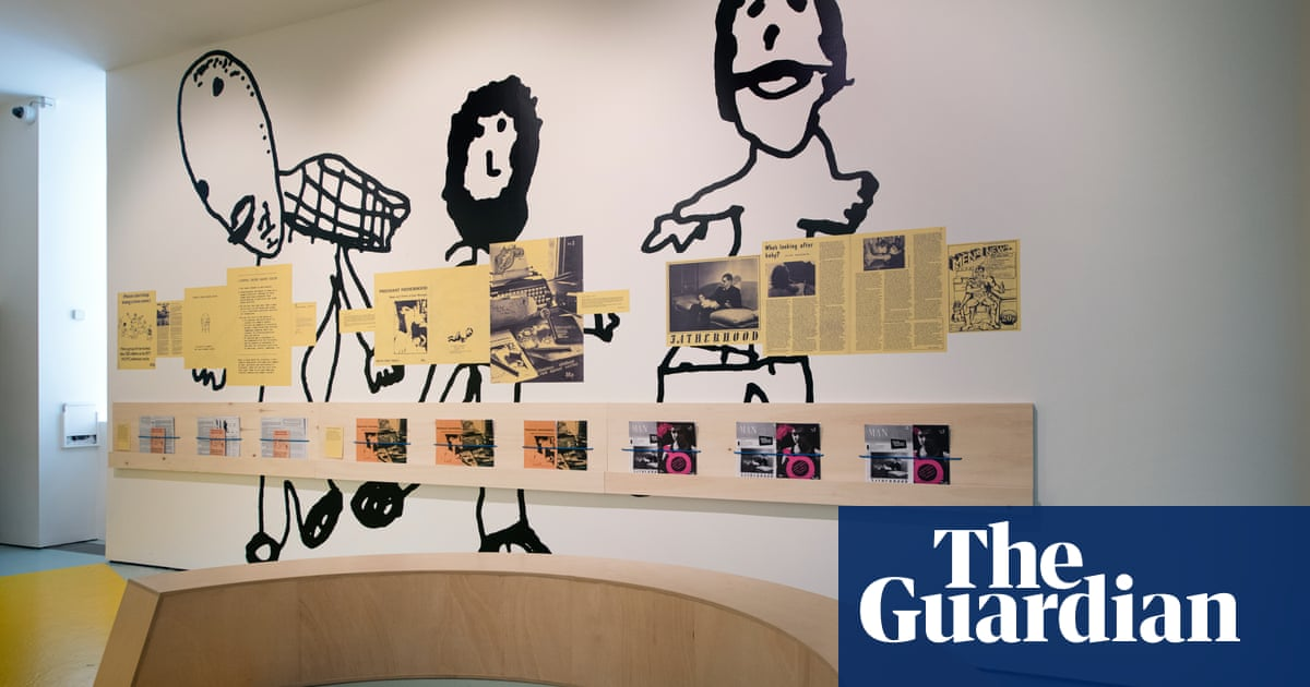 'They wanted to end masculinity': the artist inspired by anti-sexist men's groups