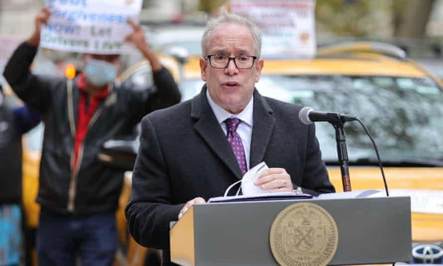The New York City comptroller, Scott Stringer.