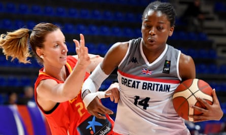 Britain's Temi Fagbenle scored 21 points in the loss to Spain and was named in the team of the tournament.