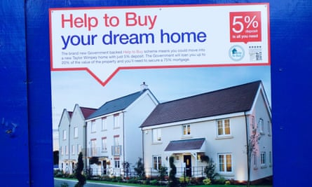 Advertisement for the help-to-buy scheme