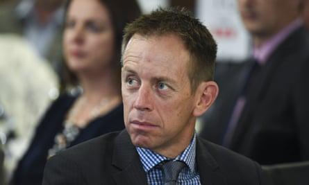 Le chef des Verts Shane Rattenbury.
