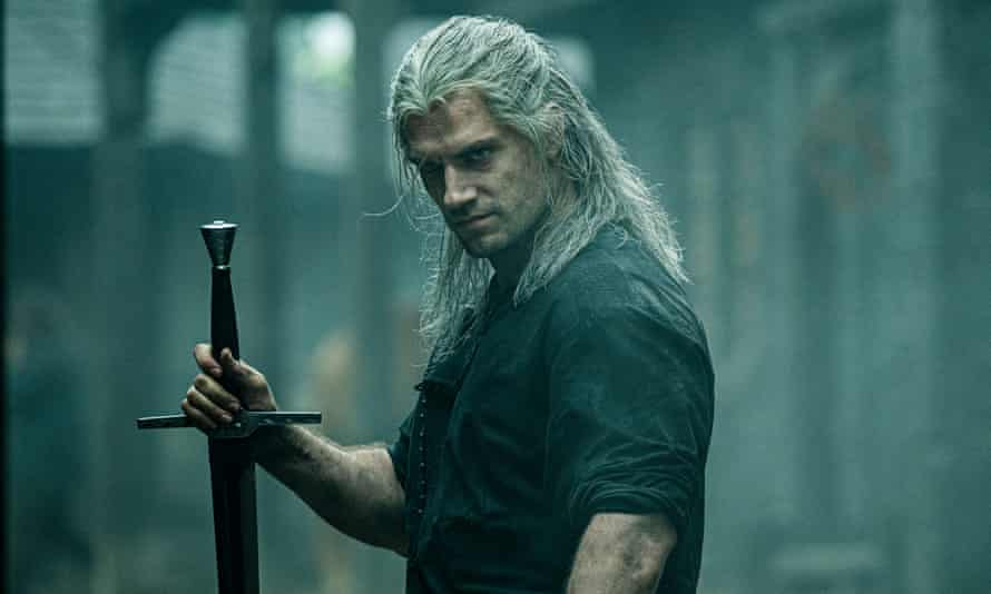 Henry Cavill in The Witcher.