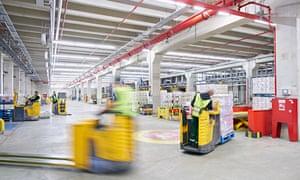 Detergents warehouse; Düsseldorf; Henkel; production site