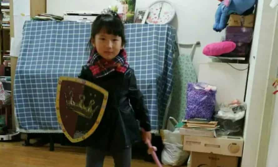 Li Jiamei, the six-year-old daughter of Li Heping, has not heard from her father since he disappeared into the custody of China's security services in July 2015.