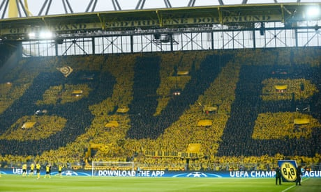Borussia Dortmund's 'yellow wall' stands tall in face of attack on team