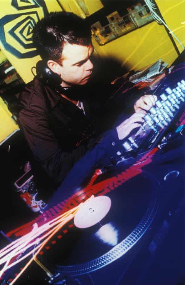 Paul Oakenfold DJing in London.