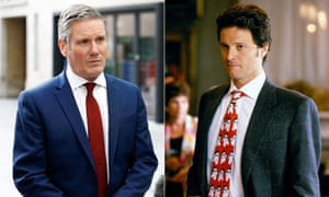 Romantic leads? Keir Starmer, and Colin Firth as Mark Darcy