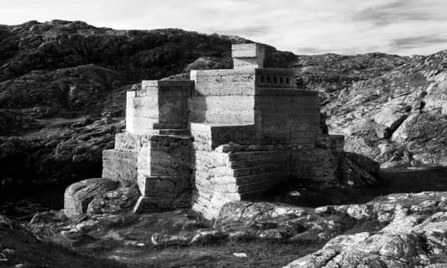 'Remarkable': Hermit's Castle on the north-west coast of Scotland