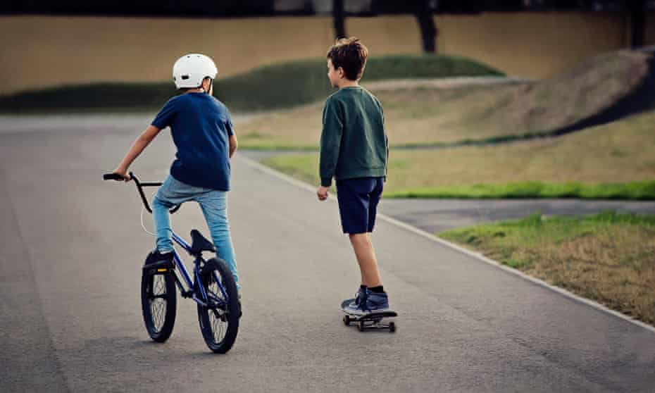 'It's a good idea for kids to be able to walk and cycle more.'