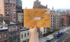 Going postal ... Civilization art and fashion newspaper.