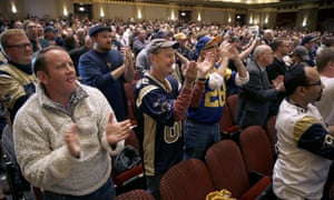 St Louis rams fans