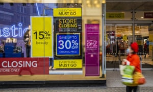 Closing down discounts at Debenhams after the end of the second Covid lockdown