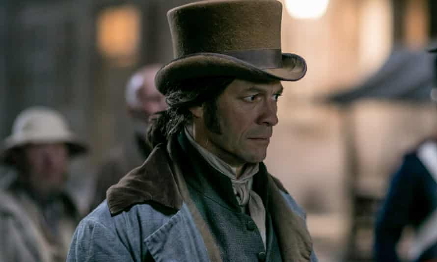 What a gift of an actor he is, with or without giant beard and glimpses of buttock … Dominic West as Jean Valjean.