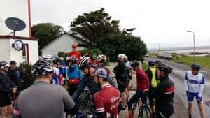 The Ride of the Falling Rain on the Hebridean island of Islay, 2017