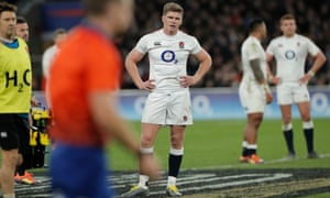 Owen Farrell and England left floundering in second-half chaos