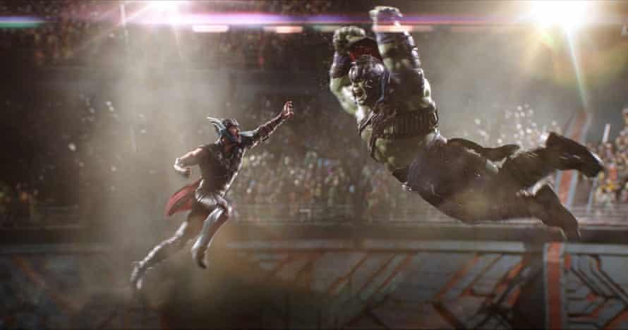 A scene from Thor: Ragnorak