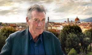 Programme Name: Michael Palin's Quest for Artemisia - TX: n/a - Episode: Michael Palin's Quest for Artemisia (No. n/a) - Picture Shows: Florence Michael Palin - (C) BBC - Photographer: Carlo D'Alessandro