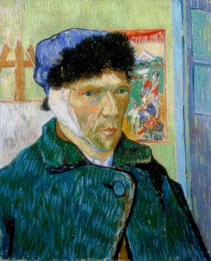 A psychological state rendered in oils … Van Gogh's Self-Portrait with Bandaged Ear.