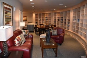 The library in Survival Condo, Kansas.
