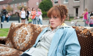 Natalie Gavin as Andrea Dunbar in The Arbor.