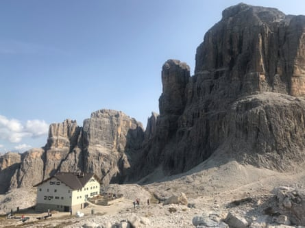 Rifugio Pisciadu, Italian Dolomites