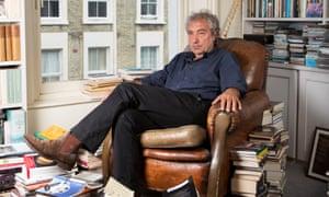 Adam Phillips in his home in west London